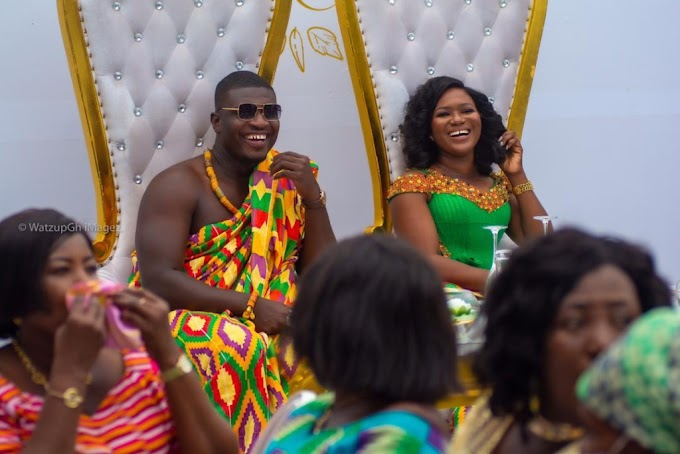 Joy FM's Lexis Bill tie the knot with his long time girlfriend, Esther Esime Siale
