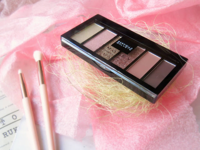 Gabriella Salvete Smokey Eyeshadow Palette Romantic