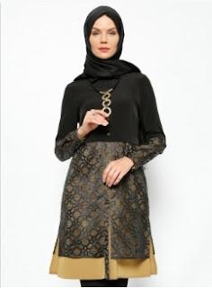 Model baju kerja wanita muslimah yang bertubuh gemuk