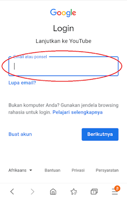 Cara Terbaru Membuat Akun YouTube