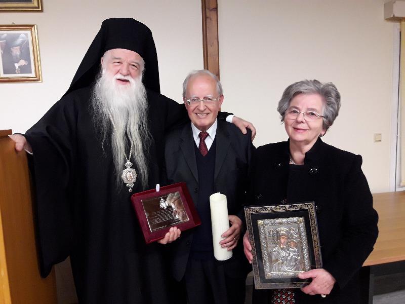 Η Ι.Μητρόπολη Καλαβρύτων & Αιγιαλείας τίμησε τον θεολόγο, νομικό και συγγραφέα Ευάγγελο Λέκκο