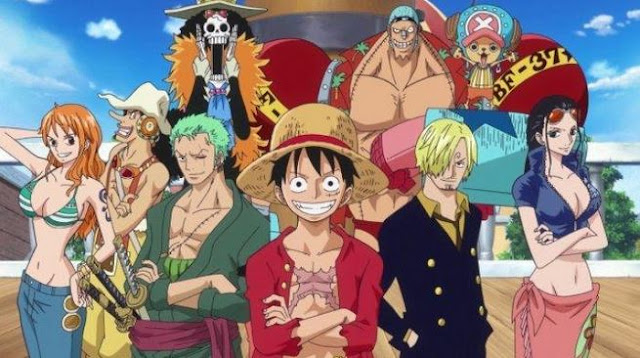Anime One Piece Super Power Terbaik