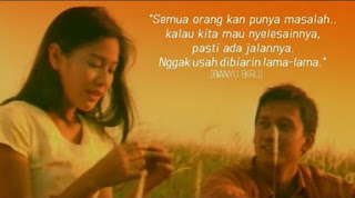 kutipan film, quotes film, kata kata film indonesia
