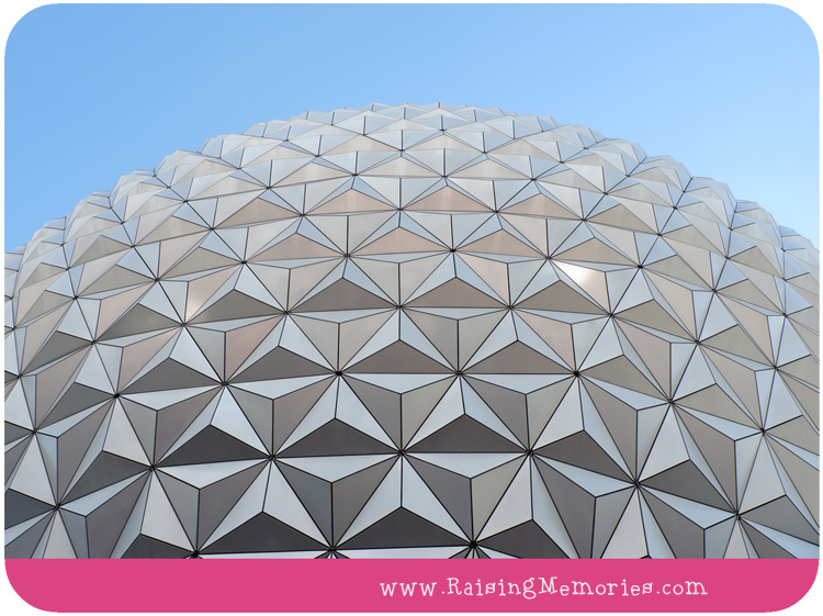 The Big Golf Ball Top 10 Rides at Epcot