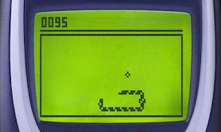 Snake game from Nokia