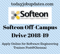 Softeon Off Campus Drive 2019