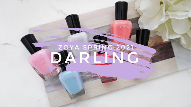Zoya spring 2021, Zoya spring 2021 swatch, Zoya darling collection, Zoya darling swatches, Zoya mara, Zoya val, Zoya Kayleigh, Zoya Ella, Zoya tweedy
