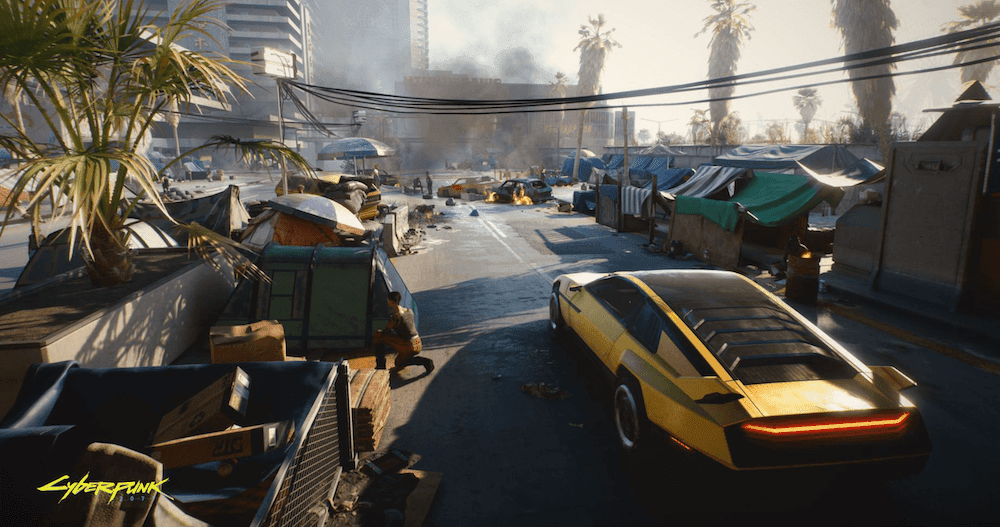 CyberPunk 2077 City Playing