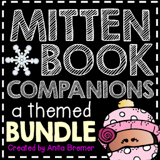 Mitten themed book study companion activities perfect for a winter theme!