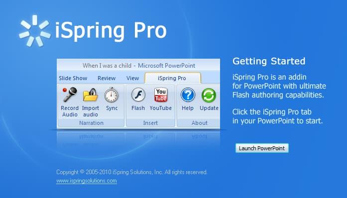 برنامج تصوير الشاشة فيديو للكمبيوتر iSpring