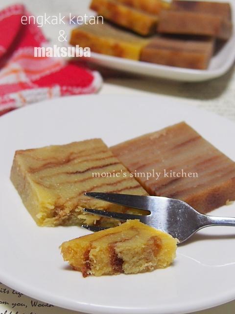 kue khas palembang engkak maksuba