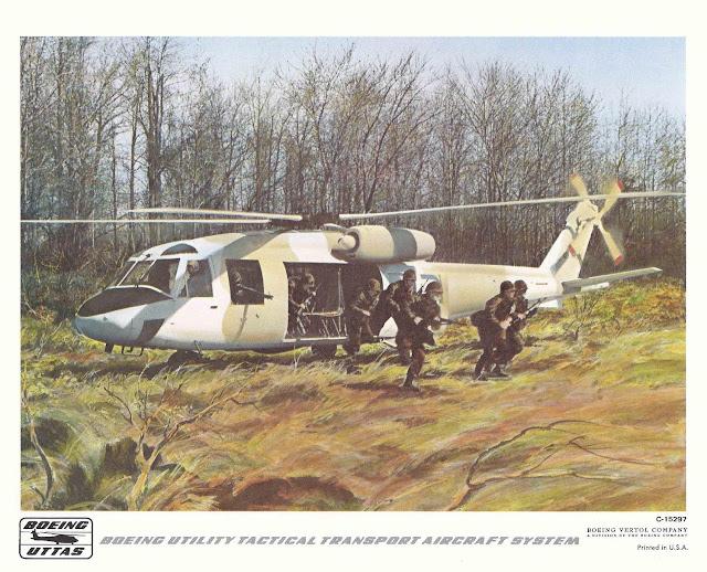 Boeing-Vertol YUH-61 Artist Impression