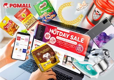PG Mall, Online Shopping Di PG Mall, Jualan, Hot Day Sale,