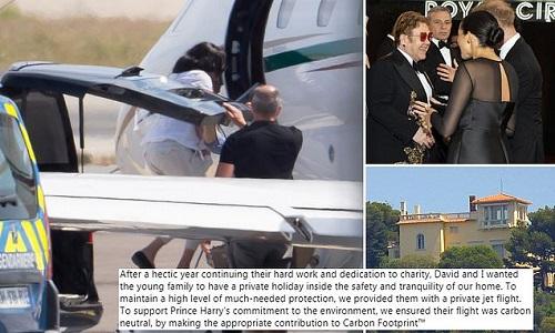Prince Harry & Meghan Markle's trip to France was sponsored by Elton John