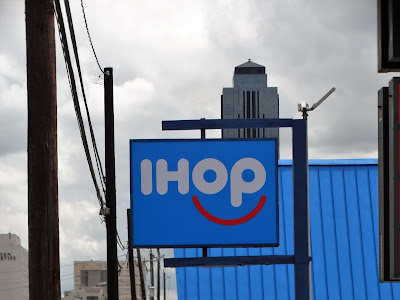 New IHOP logo at Westheimer location near the Galleria