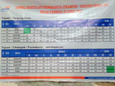 Jadwal kereta Jakarta - Cikampek