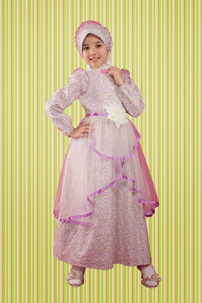 15 Contoh Model Baju Muslim Anak Perempuan Terbaru 042a592533