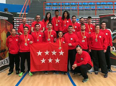 Campeonato de España de Kickboxing Club Karate Aranjuez