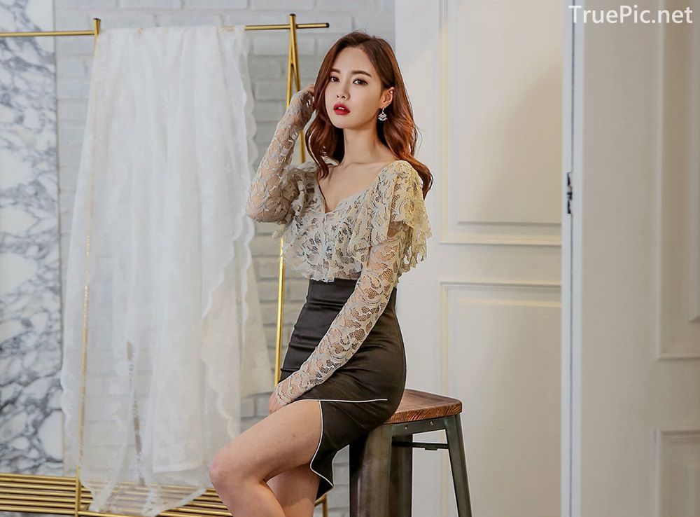 Korean Fashion Model - Hyemi - Indoor Photoshoot Collection - TruePic.net - Picture 5