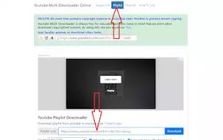 طريقة تحميل قائمة تشغيل من اليوتيوب دفعة واحدة