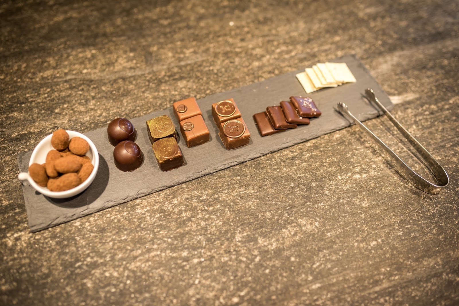 swiss chocolates photographed by Andre Meier