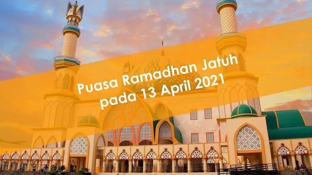 Muhammadiyah Tetapkan 1 Ramadhan Jatuh pada 13 April 2021