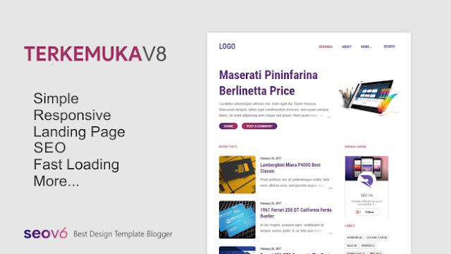 Template Blogger Terkemuka ( Notable ) V8