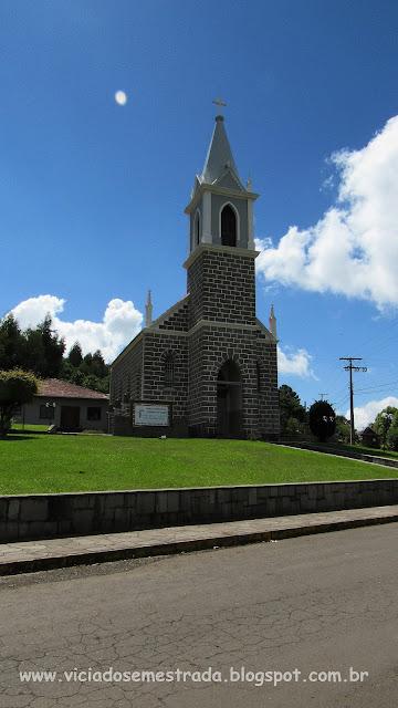 Igreja Luterana em Linha Brasil, Nova Petrópolis, Serra Gaúcha