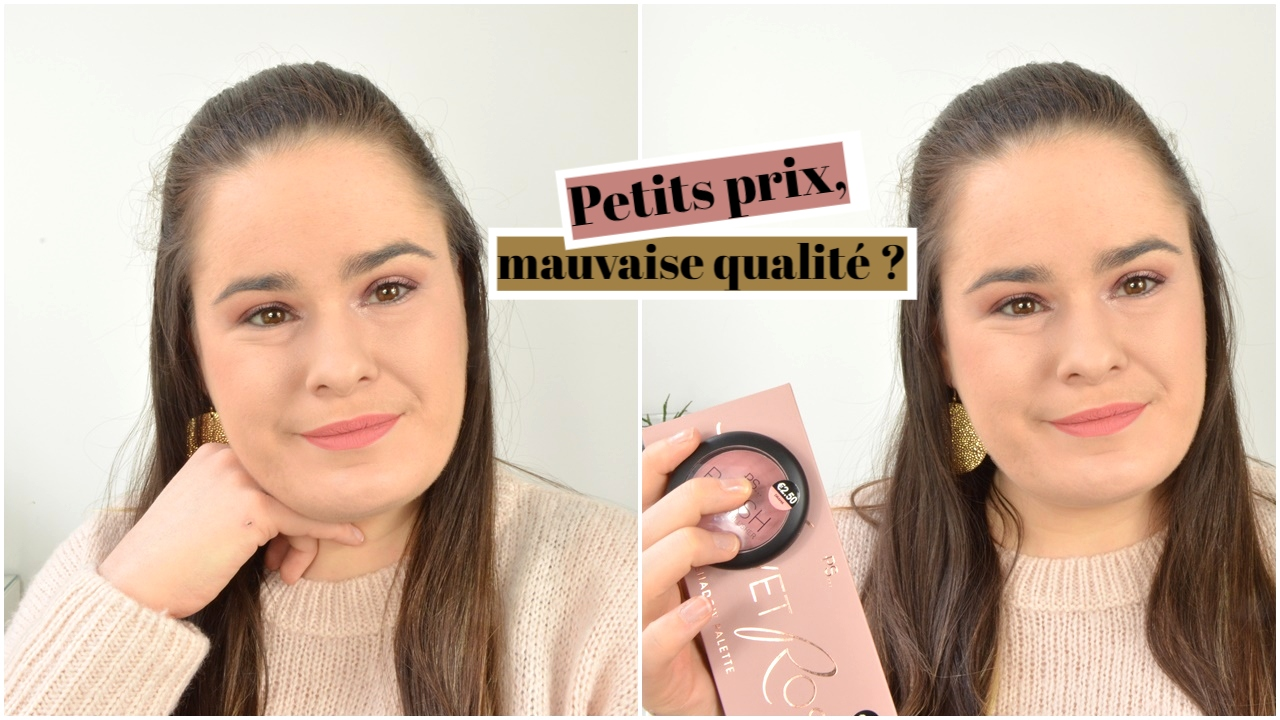 crash test maquillage pas cher primark