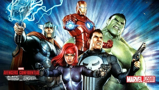 Download Avengers Confidential Black Widow & Punisher (2014) BluRay 720p