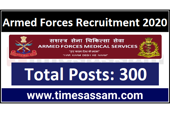 Armed Forces Medical Services Job 2020