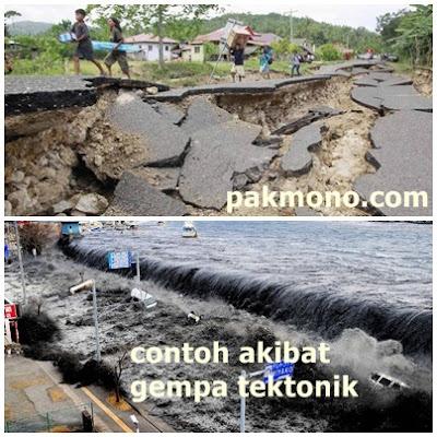 Pengertian gempa tektonik, vulkanik, dan runtuhan