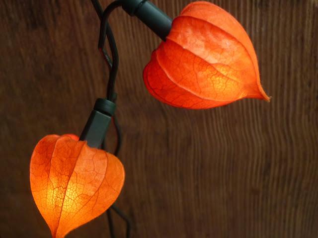 Lichterkette aus Lampions