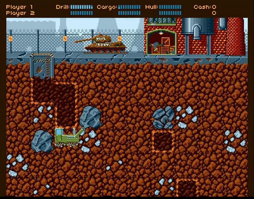 Indie Retro News: AMIner - An Arcade mining game released