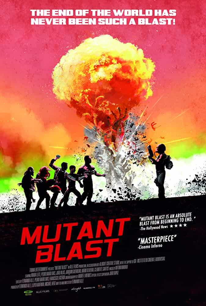 Mutant Blast 2018 720p 750MB HDRip
