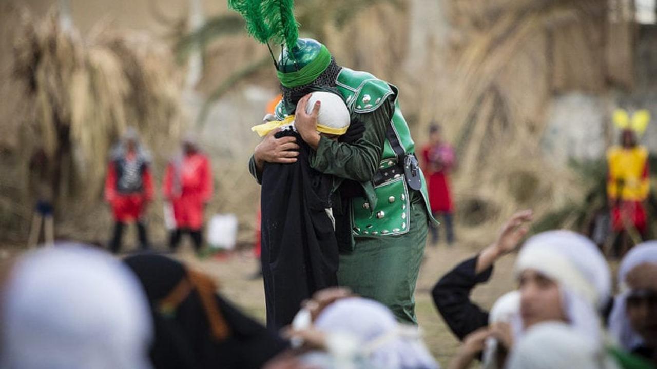 Celebração de Ashura no Irã