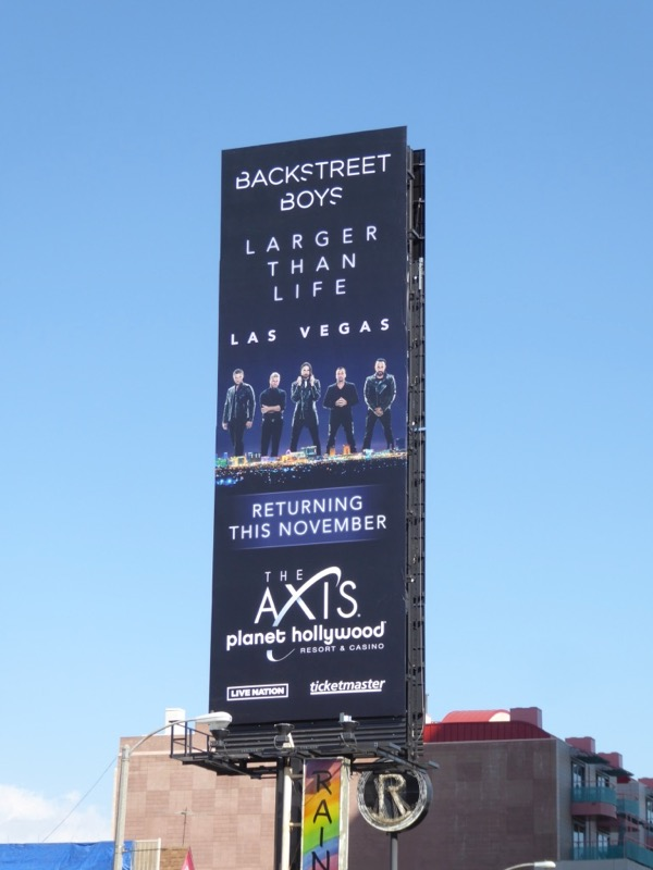 Backstreet Boys Vegas billboard