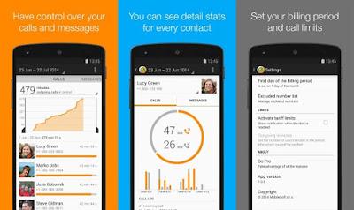 Track Calls and usage with Callistics App