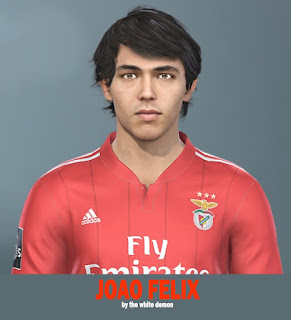 PES 2019 Faces João Félix Sequeira by Jarray & The White Demon