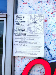 petition against fracking waste injection well, Hubbard Twp, Trumbull County, Ohio