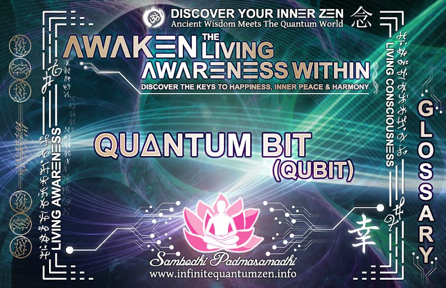 Quantum Bit (Qubit) - Awaken the Living Awareness Within, Author: Sambodhi Padmasamadhi – Discover The Keys to Happiness, Inner Peace & Harmony | Infinite Quantum Zen