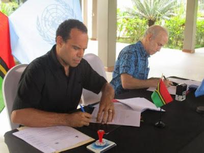 PBB Menjadi Tuan Rumah Vanuatu