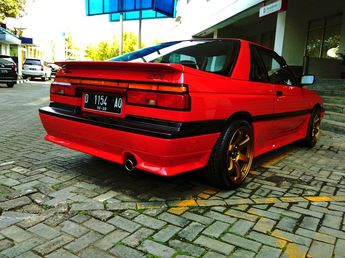 Nissan Sunny Coupe, RZ-1, B12, tuning