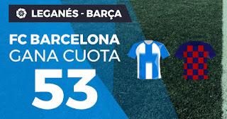 Paston Megacuota liga Leganés vs Barcelona 23-11-2019