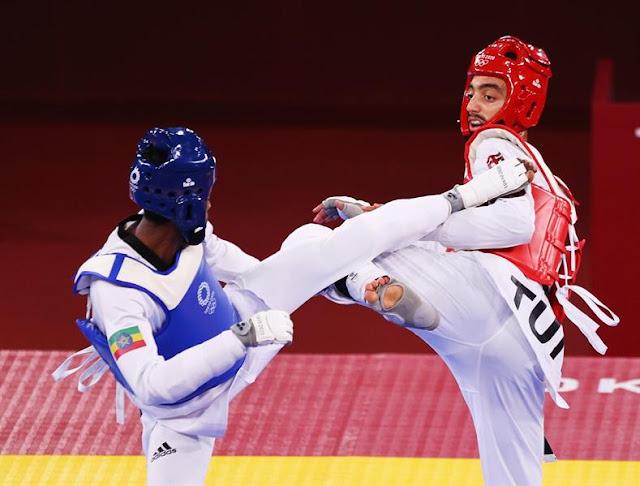 الجندوبي يؤمن أول ميدالية عربية بطوكيو
