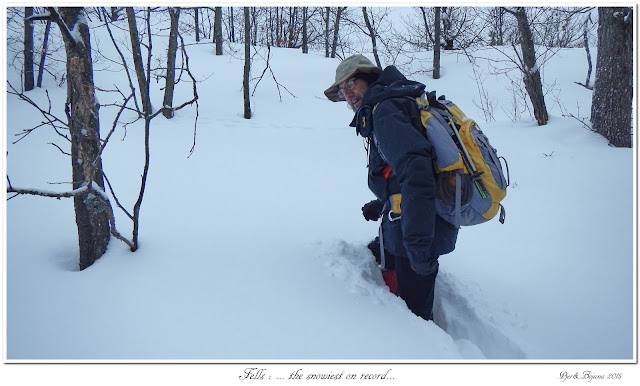 Fells: ... the snowiest on record...