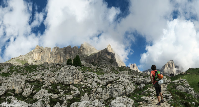 Klettersteigrunde im Rosengarten - Laurins Königreich aus Stein