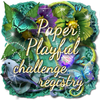 Thank you Paper Playful Challenge Registry