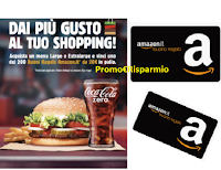 Vinci con Coca-Cola e Burger King : 200 buoni Amazon da 20 euro