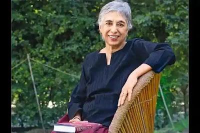 Manju Kapur: a professor of English at Miranda House in Delhi.